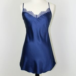 New Victoria's Secret S Navy Blue Short Nightgown